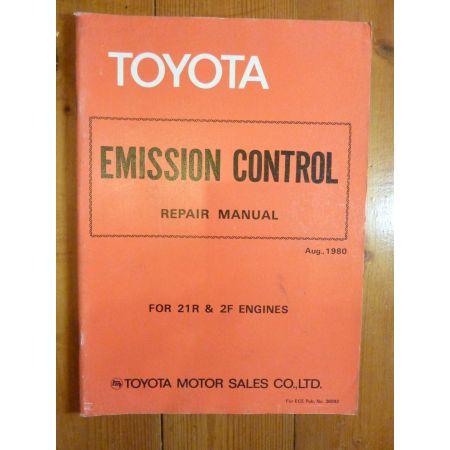 21R- 2F Repair Manual Anglais Toyota