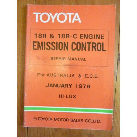 HI-LUX Repair Manual Anglais Emission Toyota