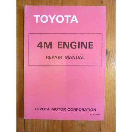 4M Repair Manual Anglais Moteur Toyota