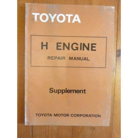 H Engine Repair Manual Anglais Toyota