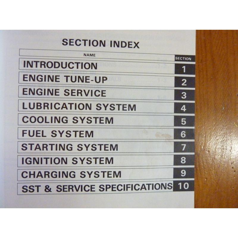 Manuel Toyota Moteurs K  English  2k  3k