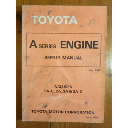 A Engine Repair Manual Anglais Toyota