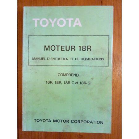 18R Manuel Réparation Toyota