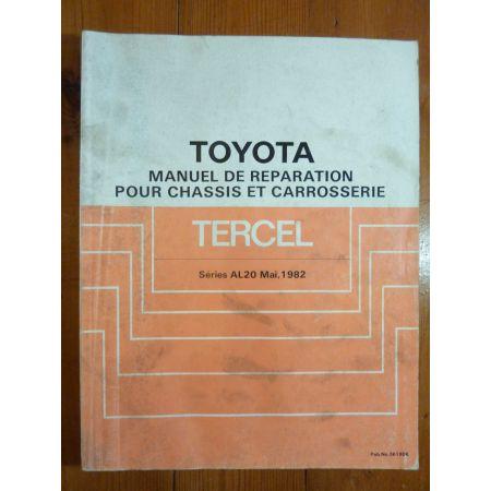 Tercel AL20 Manuel Réparation Toyota