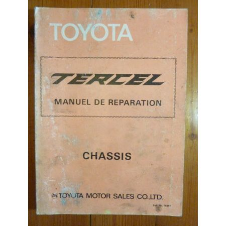 Tercel AL11 Manuel Réparation Toyota