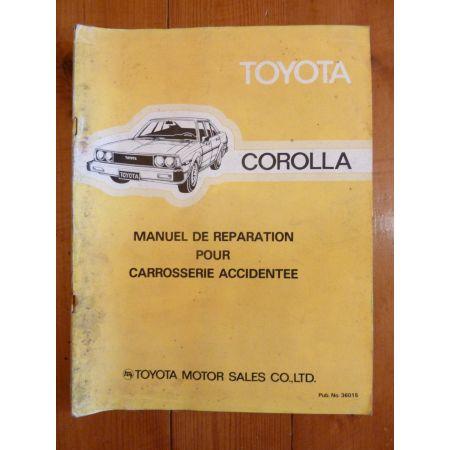 Corolla Carross. Manuel Réparation Toyota
