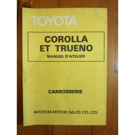 Corolla Manuel Atelier Toyota