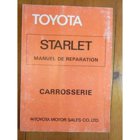 Starlet KP60 Manuel Réparation Carrosserie Toyota