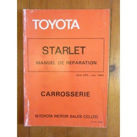 Starlet KP6 Manuel Réparation Carrosserie Toyota