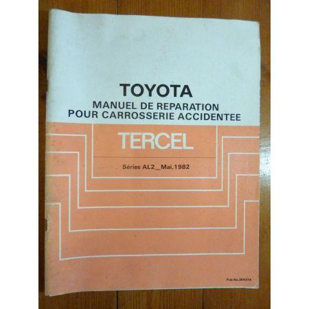 Tercel AL2. Manuel Réparation Toyota