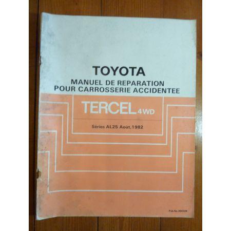 Tercel 4WD AL25 Manuel Réparation Toyota
