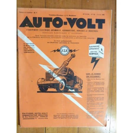 Magazine 0188 Revue electronic Auto Volt