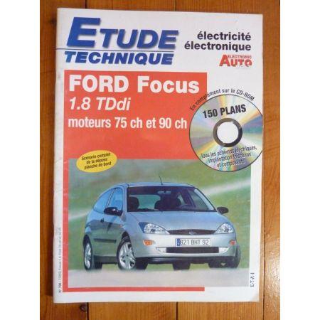 Focus 1.8 TDdi Revue Technique Electronic Auto Volt Mazda