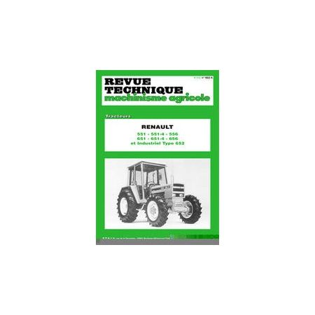 551 651 652 656 120 124 128 Revue Technique Agricole Renault