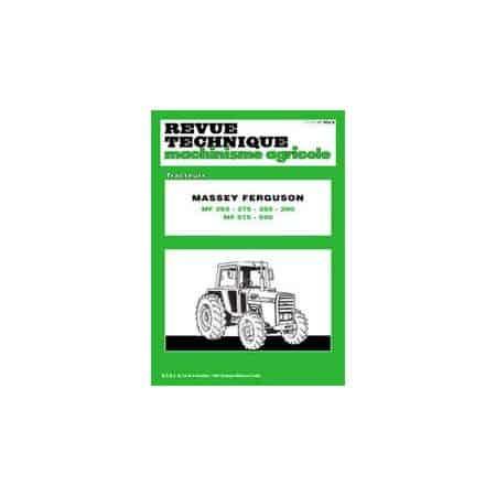 265 590 Revue Technique Agricole MASSEY-FERGUSON