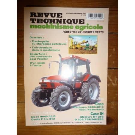 3230 4210 4220 4230 4240 Revue Technique Agricole CASE IH