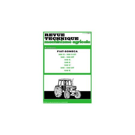 500 540 640 Revue Technique Agricole Someca