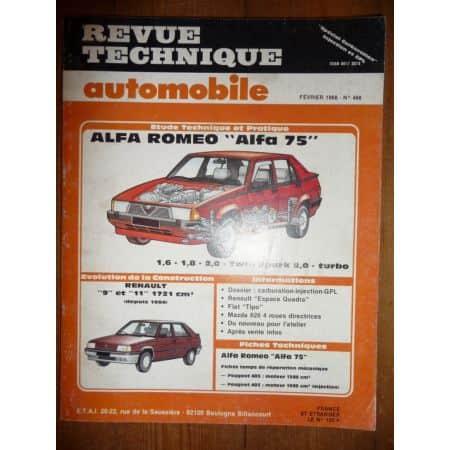 75 Revue Technique Alfa Romeo