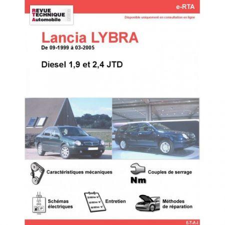 Lybra Diesel 99-05 Revue e-RTA Numerique Lancia