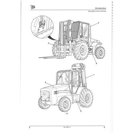 926 2 - 4WD Manuel Reparateur JCB