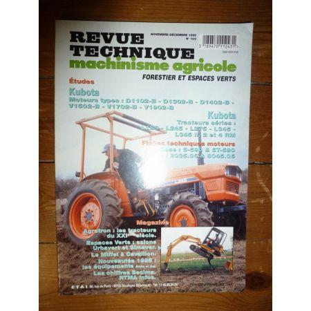 L185 à L345 Revue Technique Agricole Kubota