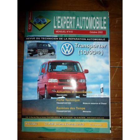 Transporter 90- 2.5tdi 2.5 ess Revue Technique Volkswagen