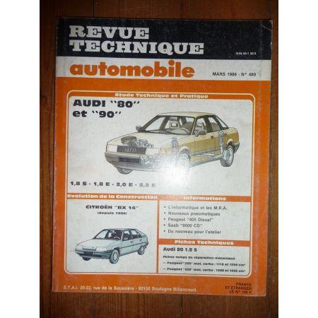 80 - 90 Revue Technique Audi