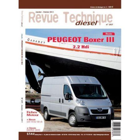 Boxer III 2.2 Revue Technique Peugeot