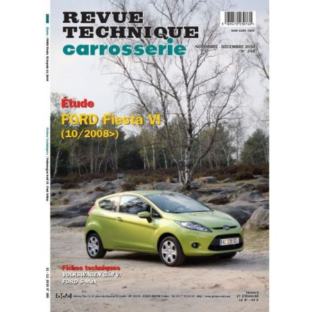 Fiesta VII Revue Technique Carrosserie Ford