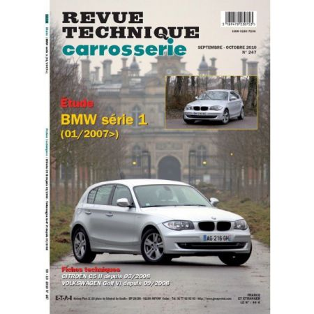 Serie 1 Revue Technique Carrosserie BMW