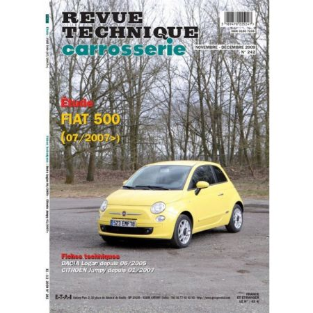 500 Revue Technique Carrosserie Fiat