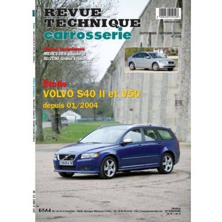 S40 II V50 Revue Technique Carrosserie Volvo