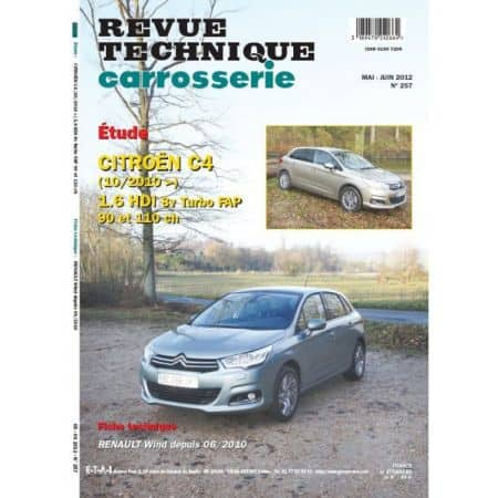 C4 1.6 HDi Revue Technique Carrosserie Citroen