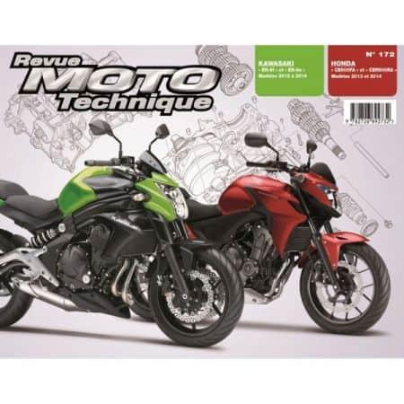 CB500 RT 6N/F Revue Technique moto Honda Kawasaki
