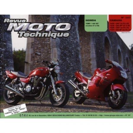 CBR1100XX XJR1200 1300 Revue Technique moto Honda Yamaha