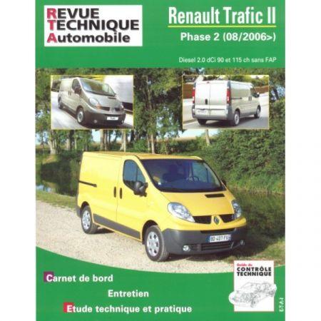 renault trafic ii phase 2 sans fap depuis 08 2006 diesel 2 0 dci 90 et 115 ch. Black Bedroom Furniture Sets. Home Design Ideas