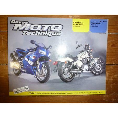 Zing125 YZFR1 Revue Technique moto Kymco Yamaha