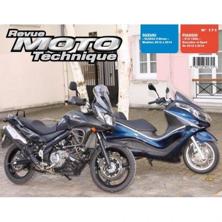 DL650A X10 Revue Technique moto Suzuki Piaggio