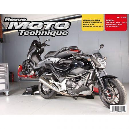 Xmax250 NC700 Revue Technique moto Honda Yamaha MBK