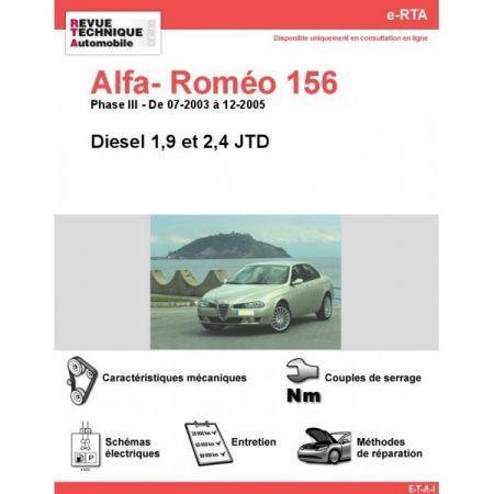 156 D 03-05 Revue e-RTA Numerique Alfa Romeo