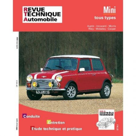 Mini 59-92 Revue Technique Mini Mg Austin