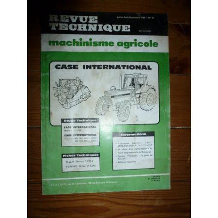 955 1055 956 1056 Revue Technique Agricole Case Axial