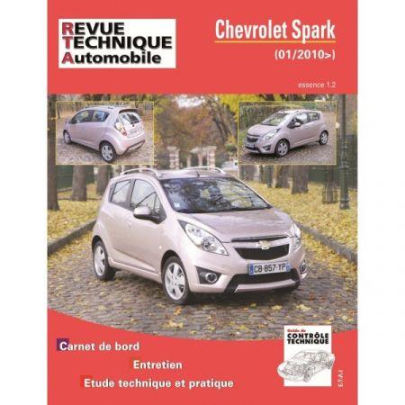 Spark 1.2i 10- Revue Technique Chevrolet