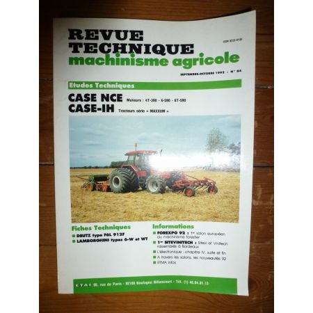 Maxxum 5120 5130 5140 Revue Technique Agricole Case Axial