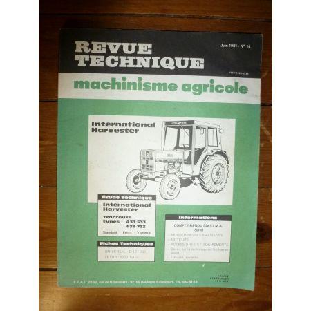 433 533 633 733 Revue Technique Agricole IH