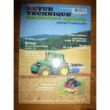 6010 a 6610 Revue Technique Agricole John Deere