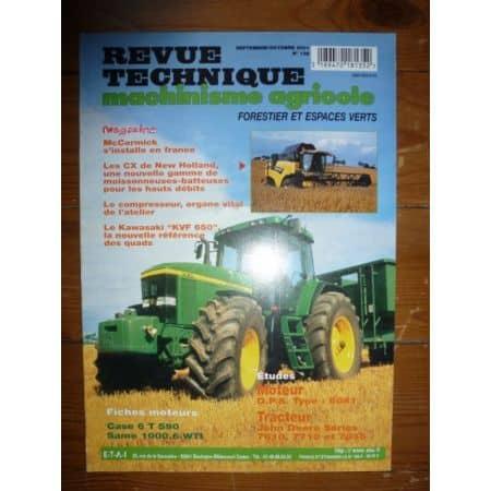 7610 7710 7810 Revue Technique Agricole John Deere