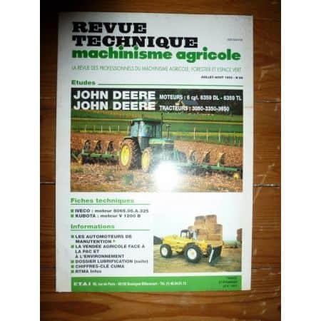 3050 3350 3650 Revue Technique Agricole John Deere
