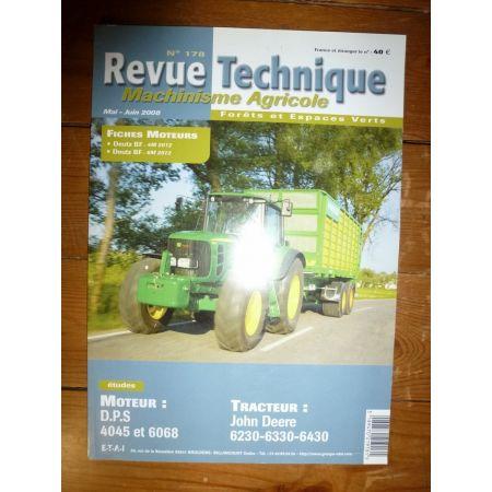 6230 6330 6430 Revue Technique Agricole John Deere