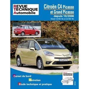 citroen c4picasso et grand picasso depuis 10 2006 diesel 1 6 hdi 16v et 2 0 hdi 16v. Black Bedroom Furniture Sets. Home Design Ideas